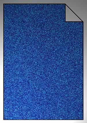 ExtraGlitzer Flexfolie A4 Saphireblau