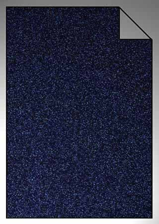 ExtraGlitzer Flexfolie A4 Navy-Blau