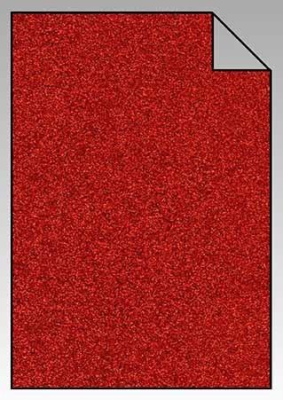 ExtraGlitzer Flexfolie A4 Rot