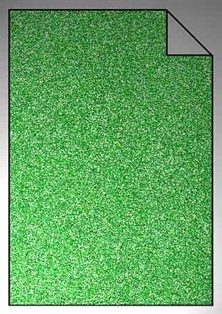 ExtraGlitzer Flexfolie A4 Limegreen
