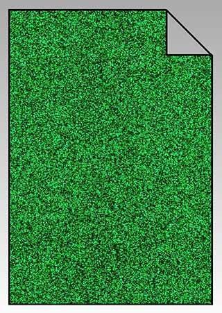 ExtraGlitzer Flexfolie A4 Grasgrün