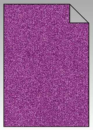 ExtraGlitzer Flexfolie A4  Lavendel
