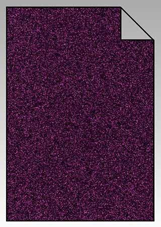 ExtraGlitzer Flexfolie A4 Purple