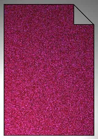 ExtraGlitzer Flexfolie A4 Hot Pink