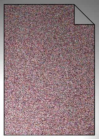 ExtraGlitzer Flexfolie A4 Confetti Pink