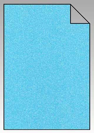 ExtraGlitzer Flexfolie A4 NEON-Blau