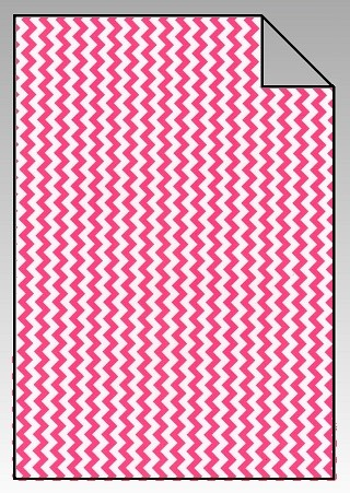 Chevron Flexfolie A4 Big Pink
