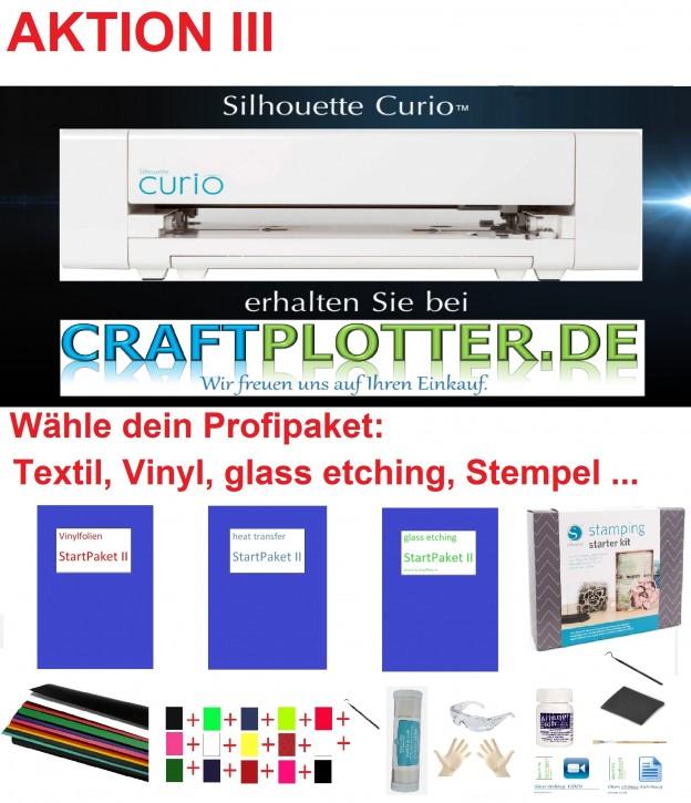 SILHOUETTE CURIO Flachbett-Schneideplotter Aktion 3