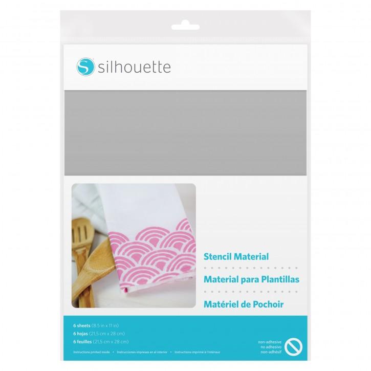 Silhouette Schablonen Folie (nicht selbstklebend)