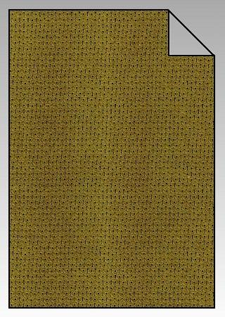 Paillette Flexfolie A4 Gold