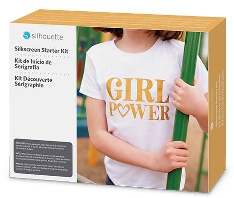 SILHOUETTE Siebdruck Starter Kit