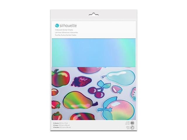 Silhouette bedruckbares Sticker Papier - Schillernd