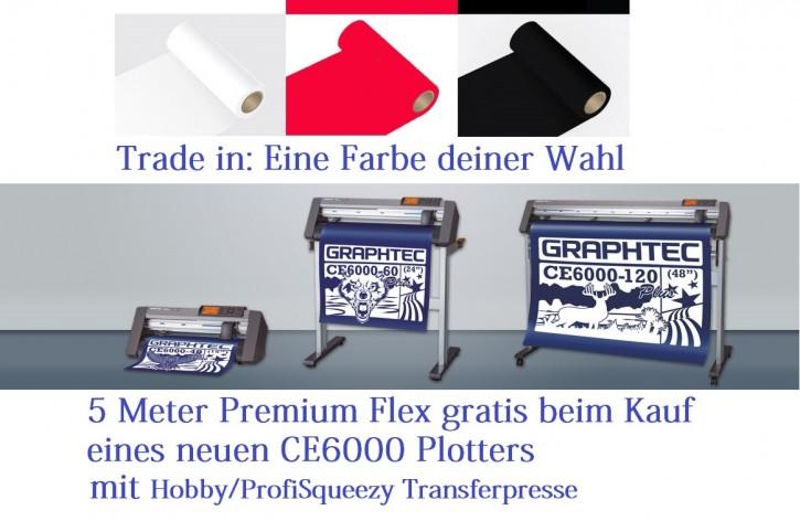 TradeIn CE6000 plus Hobby/ProfiSqueezy mit 5 m Premium Flex Weiss