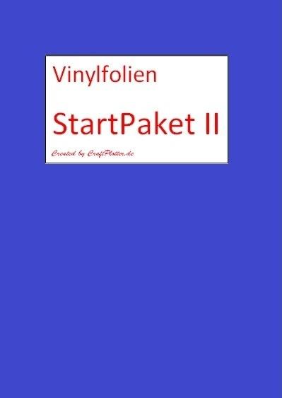 Vinyl StartPaket II für SILHOUETTE CAMEO/Portrait/Curio