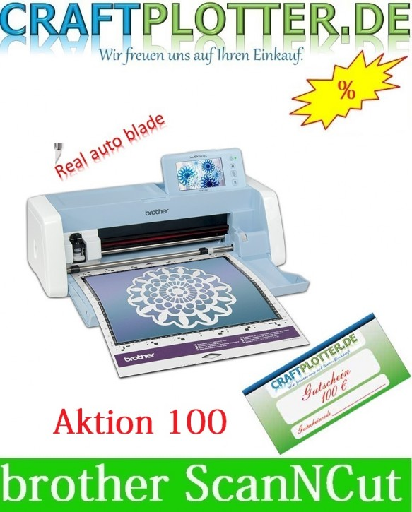 Brother SDX1200 Scan-N-Cut AKTION 100