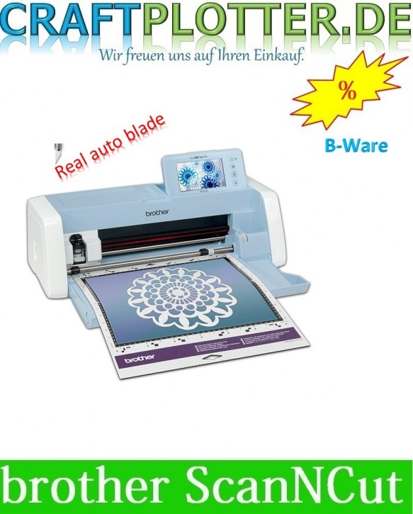 Brother SDX1200 Scan-N-Cut B-WARE