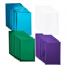 "Cricut Foil Transfer Sampler - 24 Sheets 4 x 6"" Jewel sampler"