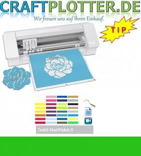 SILHOUETTE CAMEO® 4 AKTION 3 plus Textil StartPaket II
