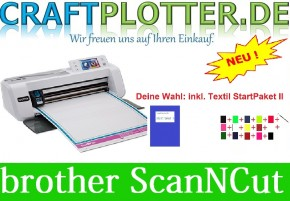 Brother CM300 Scan-N-Cut Aktion3 Textil
