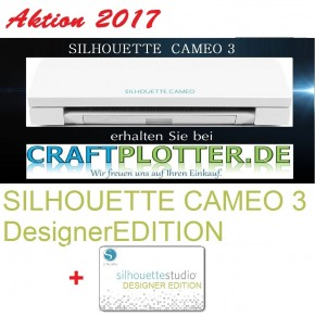 SILHOUETTE CAMEO 3 Aktion 2017