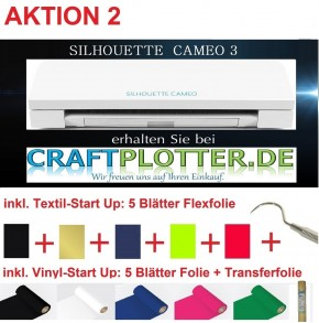 SILHOUETTE CAMEO 3 Schneideplotter AKTION 2