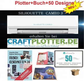 SILHOUETTE CAMEO 3 Aktion Buch