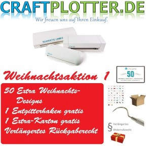 SILHOUETTE CAMEO Portrait Curio Weihnachtsaktion 1